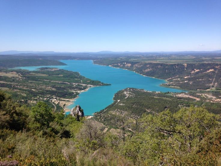view of Lac de Sainte-Croix