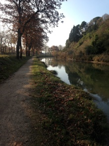 walk canal du midi