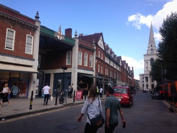 Spitalfields market and Christ Church