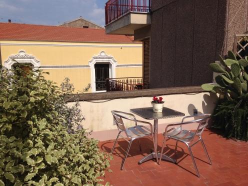 My terrace...