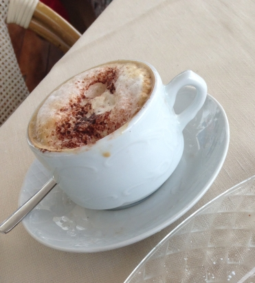 The only cappuccino I've ever liked.