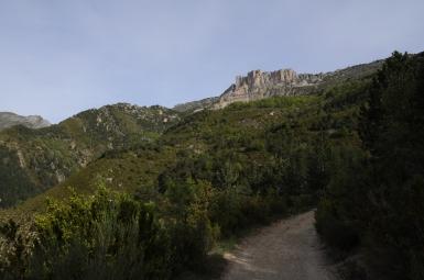 between Castellane...