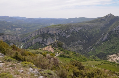 just above Rougon